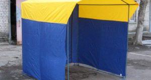 Рекомендации по выбору торговых палаток