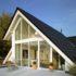 Окна в коттеджах и загородных домах