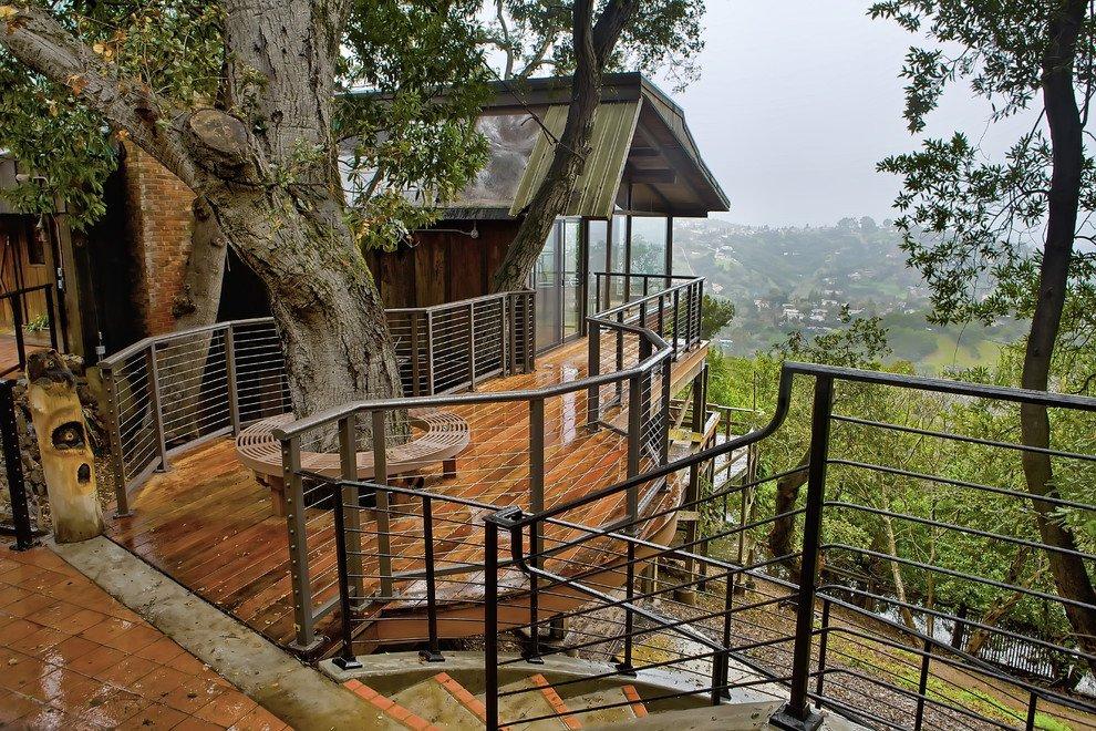 Деревянная смотровая площадка