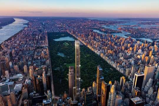 Самый высокий жилой небоскреб будет выходить окнами на парк