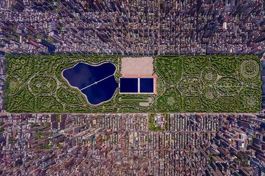 Как мог выглядеть Центральный парк Нью-Йорка