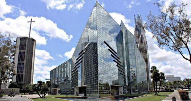 Шедевральный архитектруный проект Хрустального собора в Лос-Анджелесе