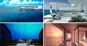 Впервые в мире построена уникальная подводная вилла. Фото