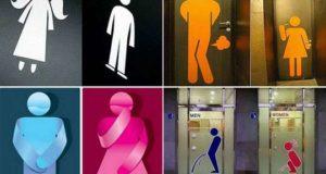 Курьезы: самые смешные сантехнические таблички. Фото