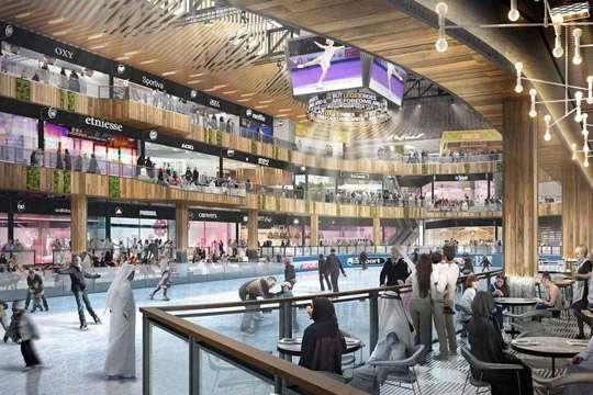 Самый большой спорткомплекс в мире откроют в 2020 г.