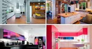 46 вариантов современного оформления кухни. Фото