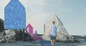 «Остров пластика» демонстрирует возможности использования океанского мусора в архитектуре