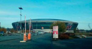 Как выглядит лучший украинский стадион, захваченный боевиками – Донбасс-Арена. Фото