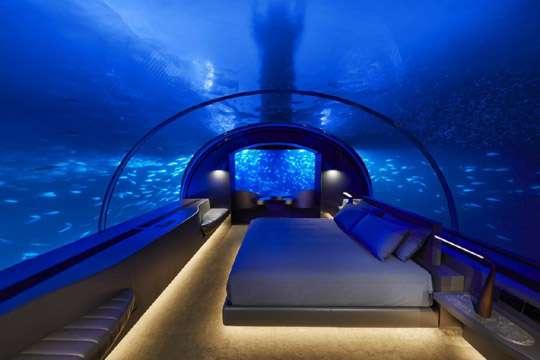 Открылась первая в мире подводная резиденция