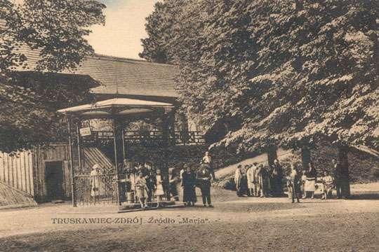Как выглядел Трускавец в начале ХХ века. Фото