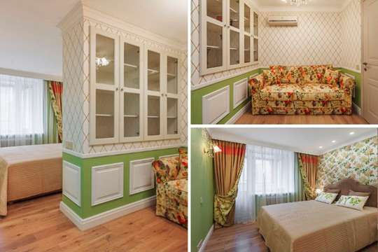 Как однокомнатную квартиру превратить в полноценную двухкомнатную. Фото