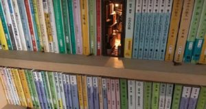 Улочки и переулки теперь служат подпорками для книг