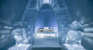 Ледяная гостиница вновь открывает двери
