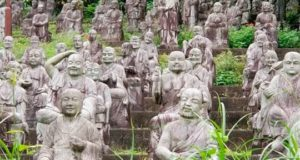 Тайна японского парка скульптур. Фото