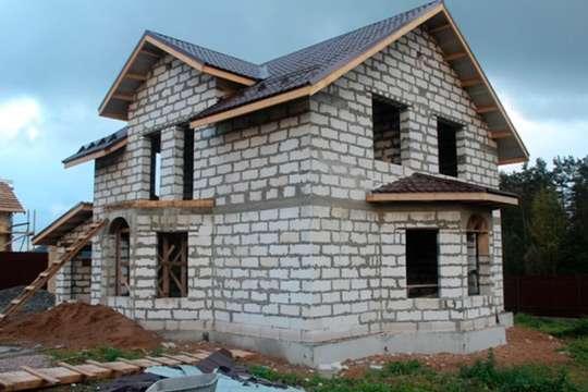 Можно ли строить дома из газобетона. Фото