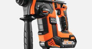 AEG представила новый мощный аккумуляторный перфоратор