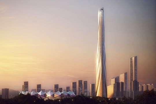 На звание второго по высоте небоскреба в мире появился новый претендент