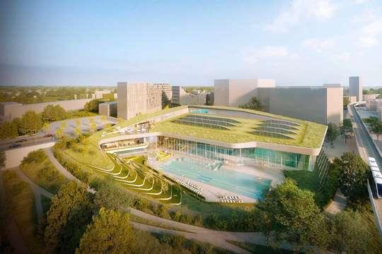 Построят самый глубокий в мире бассейн