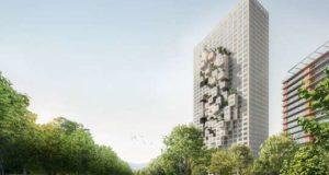 Новый небоскреб украсят объемной картой страны