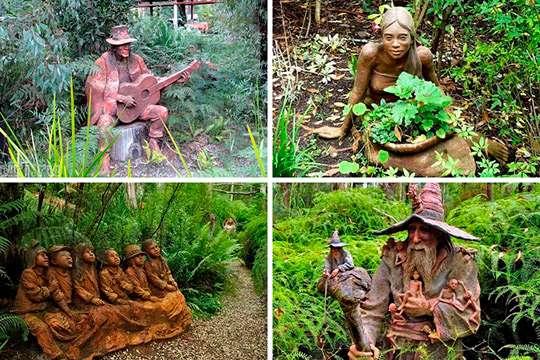 Самый волшебный сад Австралии. Фото и видео