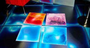 Новые технологии: жидкая плитка для интерактивного пола в доме