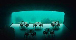 Подводный ресторан начал принимать посетителей