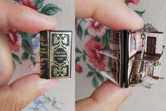 Миниатюрные книги-дома можно будет делать собственноручно