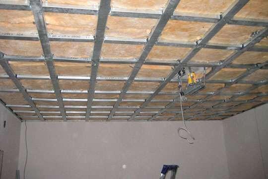 Как своими руками сделать из гипсокартона подвесной потолок любой сложности