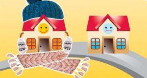 Самые распространенные виды утепления фасадов домов