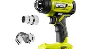 Новый аккумуляторный строительный фен Ryobi R18HG. Обзор
