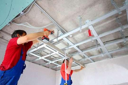 Как своими руками сделать из гипсокартона подвесной потолок любой сложности. Часть 2