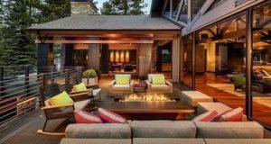 20 самых красивых террас и веранд для дачи или частного дома. Фото