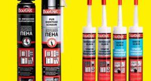 Применение монтажной пены и герметиков в строительстве