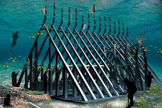 Подводный музей расскажет об угрозах океану