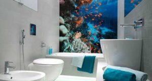 16 лучших фотообоев для ванной комнаты. Фото