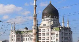 Курьезы: как в Дрездене под видом мечети построили табачную фабрику. Фото