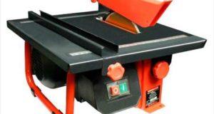 Что такое электрический плиткорез и как с ним работать