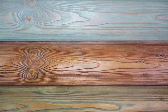 Как тонировать и травить древесину