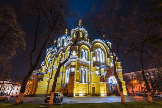 Как был построен Владимирский Собор в Киеве. Часть 2.