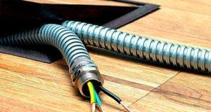 Как выбрать металлорукав для электрического кабеля. Видео
