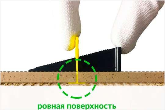 Как работает СВП — система выравнивания плитки