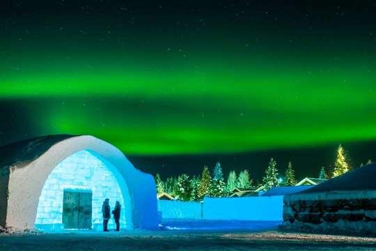 В новой ледяной гостинице можно будет помечтать о весне