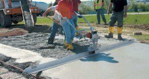 Как выбрать виброрейку для укладки бетона. Видео