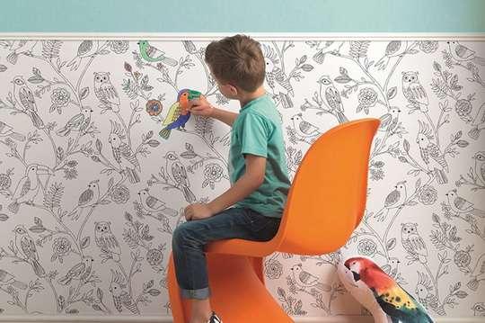 Как выбрать обои для детской комнаты. Фото