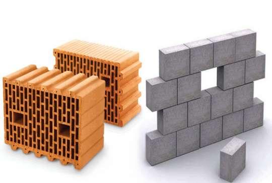 Что выбрать при строительстве дома – сравнение керамоблока и газобетона