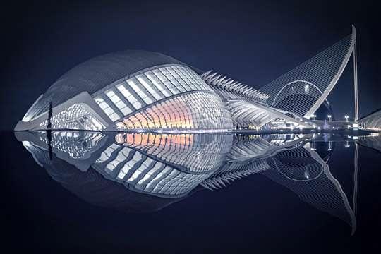Здание на лучшей фотографии напоминает рыбу