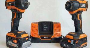 Новые аккумуляторные винтоверт и гайковерт AEG. Обзор